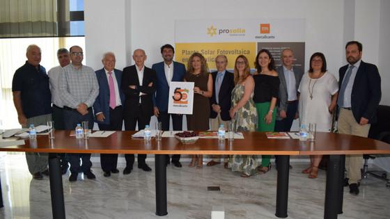 Mercalicante conmemora su 50 aniversario en su Consejo de Administración