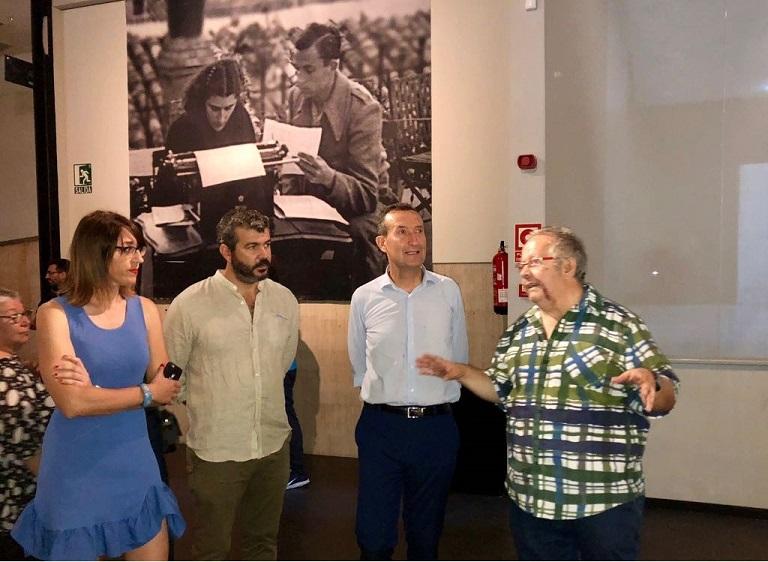 """Exposición """"Miguel Hernández a plena luz"""". Foto: Gabinete Prensa. Ayto. Elche"""