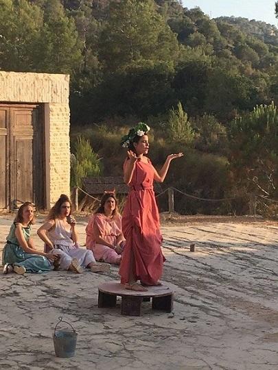 Anfitrión. Caligae Teatro de Yecla. Foto: Gabinete de Prensa Ayto. Sant Joan d'Alacant
