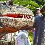 Terra Natura Benidorm regresa al Jurásico con la llegada de dos dinosaurios T-rex de dos metros de altura