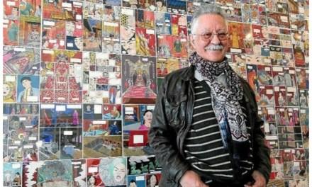 El mítico autor de cómic Nazario presenta hoy su último libro  en la Sede Ciudad de Alicante