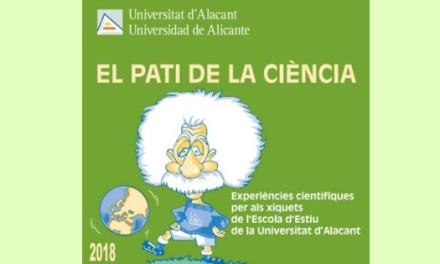 Experiments científics per als més menuts al «Pati de la Ciència» de la UA