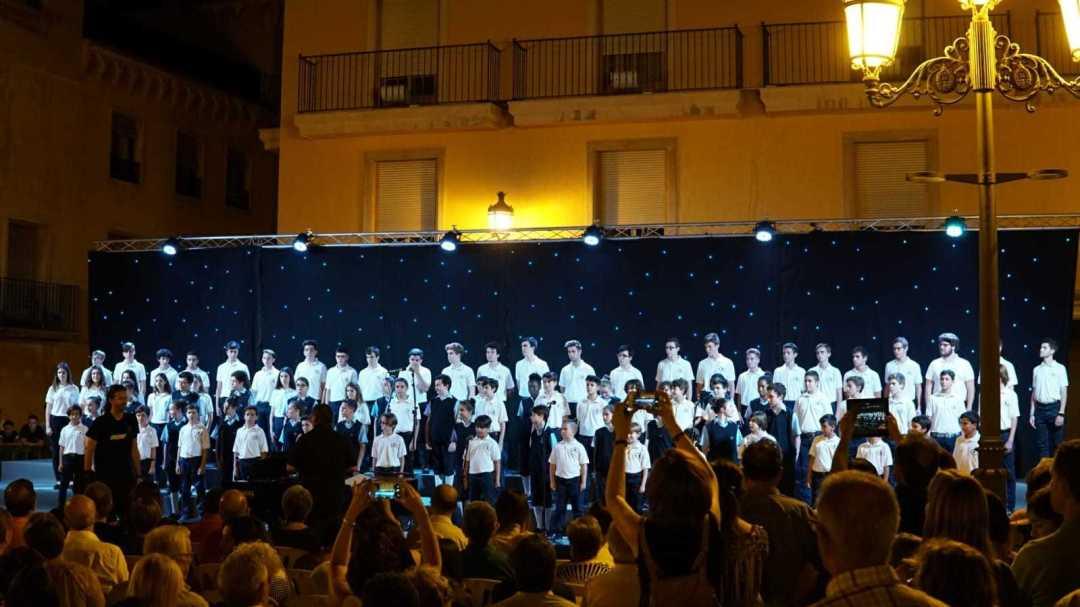 Las Voces del Coro. Foto: Gabinete de Prensa. Ayto Elche