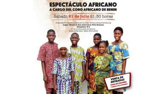 El cor infantil africà BeningBé en concert aquest dissabte a l'Alfàs