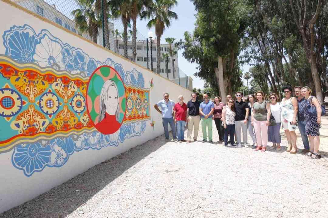 Murales de películas. Foto: Gabinete Prensa. Ayto Alfàs del Pi