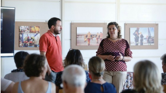 La exposición 'Bomberos de Cine' podrá visitarse hasta finales de mes en la Casa de Cultura de l'Alfàs