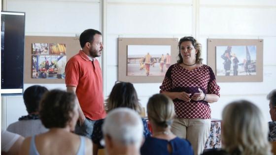L'exposició 'Bombers de Cinema' podrà visitar-se fins a finals de mes en la Casa de Cultura de l'Alfàs