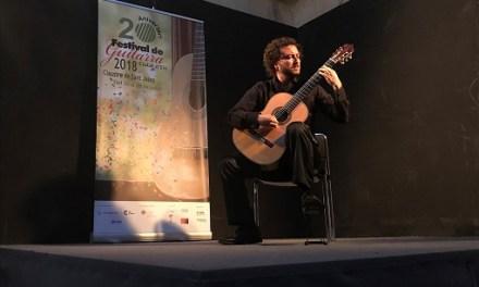 """El italiano Marco Piperno consigue el primer premio del XVI Concurso Internacional de Guitarra """"Ciutat d'Elx"""""""