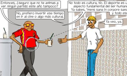 JAVIER GARCÍA-CONDE MAESTRE VIÑETA #13 LOBLANC