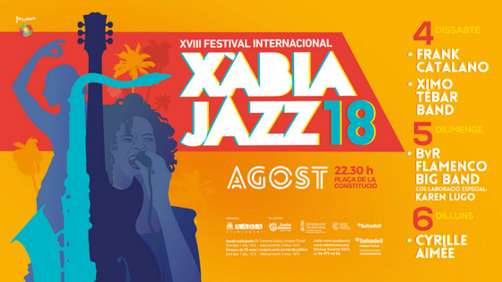 El Patronat Costa Blanca es bolca una any més amb el 'Festival Internacional Xàbia Jazz' i incrementa fins als 20.000 euros la seua col·laboració