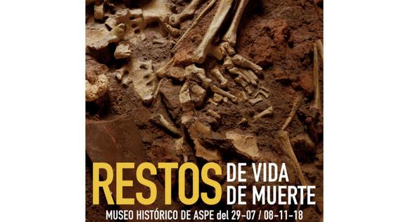"""Nueva Exposición en el Museo Histórico de Aspe: """"Restos de vida. De muerte"""""""