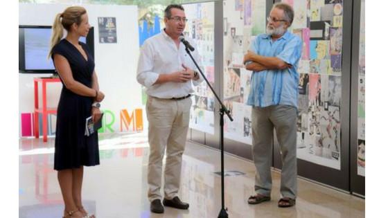 El Espai d'Art acull una mostra retrospectiva del dissenyador municipal Alejandro Guijarro
