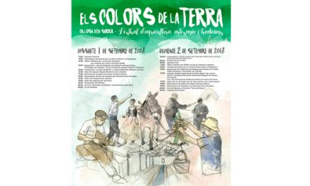 """Callosa d'en Sarrià celebra el pròxim 1 i 2 de setembre el seu festival d'agricultura, artesania i tradicions """"Els Colors de la Terra"""""""