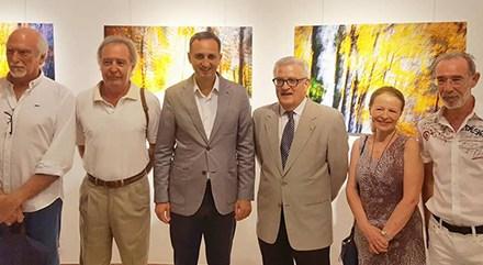 Territorios Encontrados: exposición de un colectivo, tres pintores y dos fotógrafos en el Palacio Provincial de Alicante