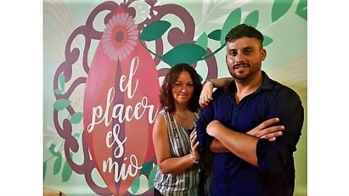 Ana Ramos Segovia y Daniel Rodríguez Mirón. Foto: Juanjo Cervetto