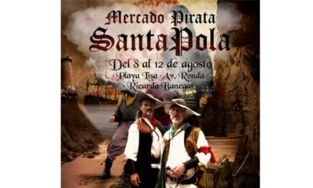 """El """"I Mercat Pirata, la Ruta Corsària"""" arriba a Santa Pola amb activitats per a tots els públics"""