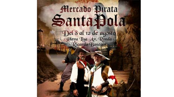 """El """"I Mercado Pirata, la Ruta Corsaria"""" llega a Santa Pola con actividades para todos los públicos"""