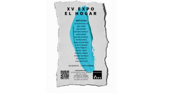 """L'art torna a brillar en l'Exposició """"El Hogar"""" de Villena"""