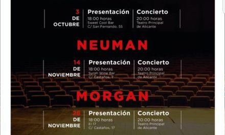 """El ciclo de conciertos """"Momentos Alhambra en el Escenario"""" de Cervezas Alhambra regresa al Teatro Principal de Alicante"""