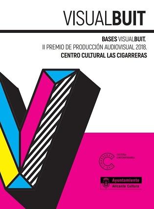 """La regidoria de Cultura obri el termini d'inscripció de """"Visual Buit"""". II Premi de Producció Audiovisual 2018"""