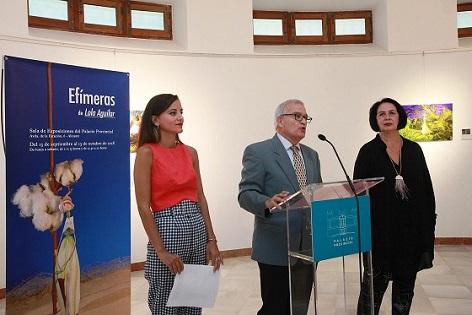 La quarta edició d'Alacant Fashion Week va començar amb una exposició inèdita de Lola Aguilar en la Diputació Provincial