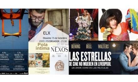 Torna la programació cultural a L'Escorxador i als barris i pedanies d'Elx