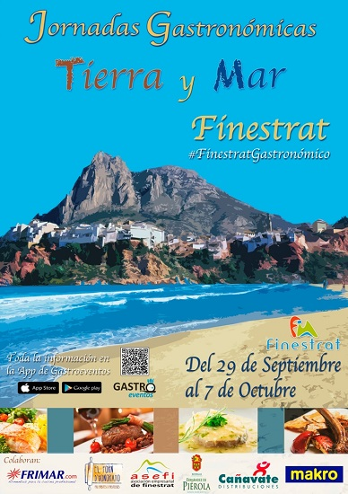"""Finestrat celebra sus Jornadas Gastronómicas """"Tierra y Mar"""" del 29 de septiembre al 7 de octubre"""