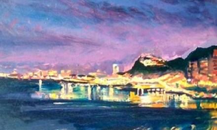 """""""Desde mi ventana"""" exposición de óleos de Rudy Mercado en Freaks Gallery"""