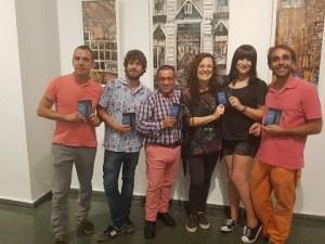 Francisco Cobos, Jon López, Manuel A. Velandia, Esther Abellán, Lydia Na y Juanjo Cervetto. Foto: Mariano Sánchez