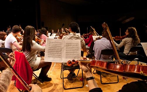L'Orquestra Filharmònica de la Universitat d'Alacant inicia les seues proves de selecció de músics per al nou curs acadèmic