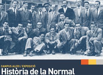 El Campus de Alcoy de la Universidad de Alicante expone «Historia de la Normal»: evolución y trascendencia histórica de la formación de maestros-as