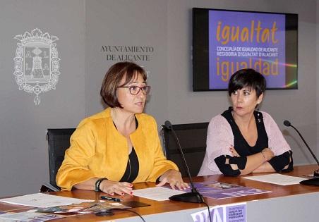Un amplio programa en Alicante con motivo del Día Internacional contra las Violencias Machistas