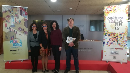 Alacant Cultura presenta la V edició de Cultura en barris