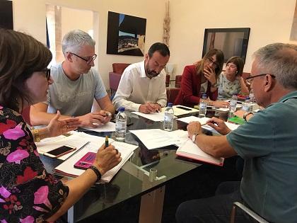 L'alcalde d'Elx ultima amb Cultura l'organització del Congrés de Patrimoni Històric i les gestions per al retorn temporal de la Dama