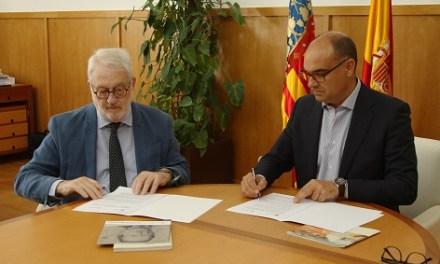 Acuerdo de colaboración entre la Fundación Caja Mediterráneo y la Fundación Biblioteca Virtual Miguel de Cervantes