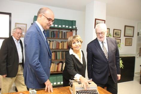 Germán Bernácer regresa la Facultad de Ciencias Económicas de la Universidad de Alicante