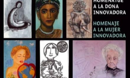 Inauguración de la Exposición HOMENAJE A LA MUJER INNOVADORA