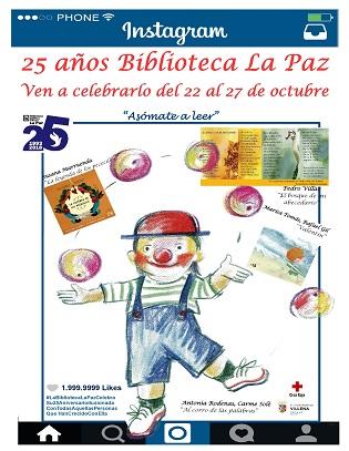 La Biblioteca La Paz de Villena cumple 25 años: joven y valiente