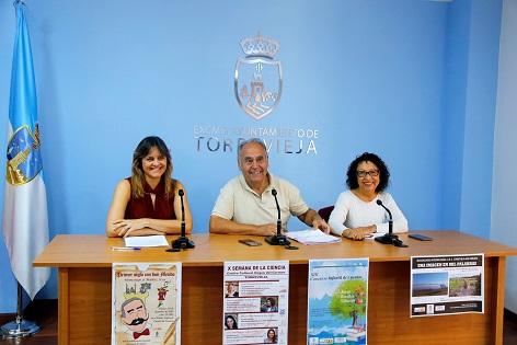 La X Edición de la Semana de la Ciencia en Torrevieja rendirá homenaje a las Mujeres Científicas