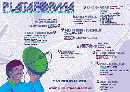 Alicante Cultura presenta el Festival Plataforma: escaparate de la actualidad musical y de los 80