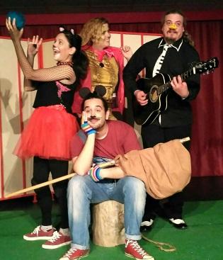 """Teatro familiar en el Aula de Cultura de Alicante con """"El ratón Damián y el bosque del rock"""""""