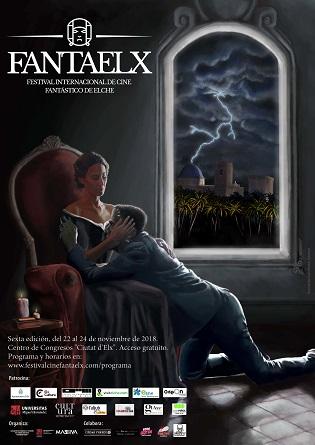 FANTAELX 2018 presenta la programación y su cartel que homenajea el bicentenario de Frankenstein