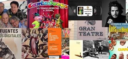Fórmula V i Cantajuego en el Gran Teatre i moltes activitats més a Elx