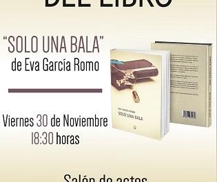 """Finestrat acoge este viernes la presentación del libro """"Solo una bala"""" de Eva García Romo"""
