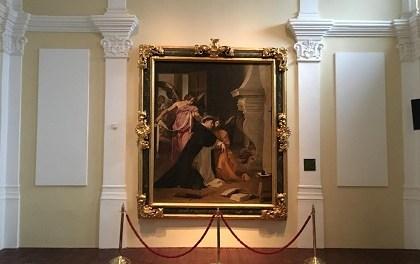 El cicle 'Descobreix una obra d'art' va tancar l'any amb el quadre de Velázquez exposat en el Museu Diocesà d'Oriola