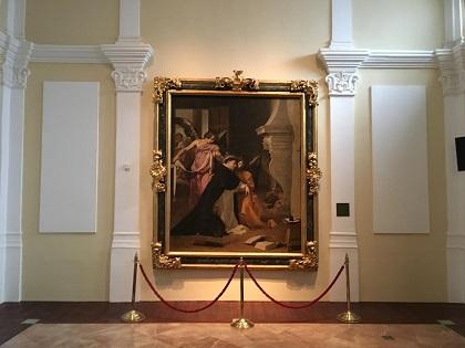 El ciclo 'Descubre una obra de arte' cerró el año con el cuadro de Velázquez expuesto en el Museo Diocesano de Orihuela