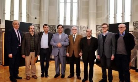 Visita del director del Museu Nacional Iran
