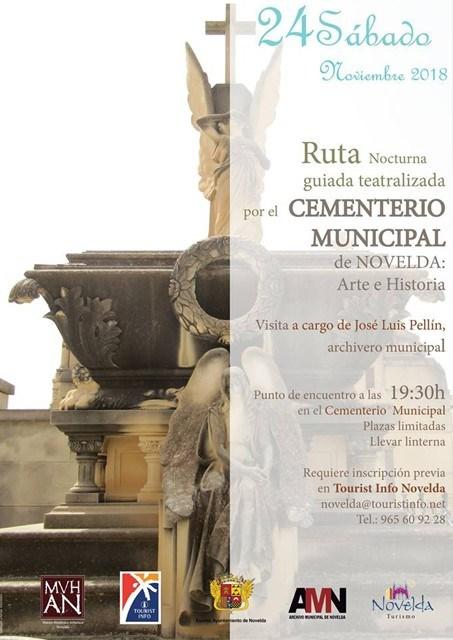 Nova Ruta Guiada al Cementeri Municipal de Novelda