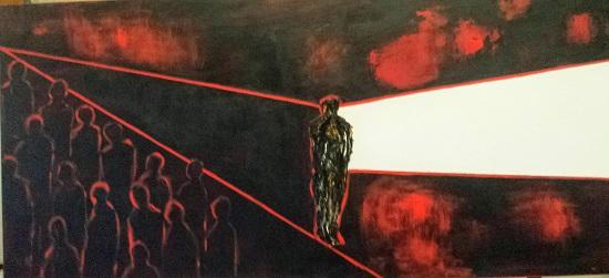 """La inauguració de l'exposició """"La Soledad"""" marca l'inici dels actes de la campanya del 25n en Sant Joan"""