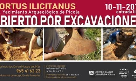Obert per excavacions: el 10 de novembre es mostren les troballes del jaciment La Picola de Santa Pola en unes visites gratuïtes